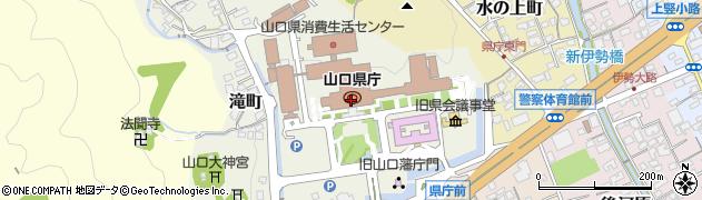 山口県周辺の地図