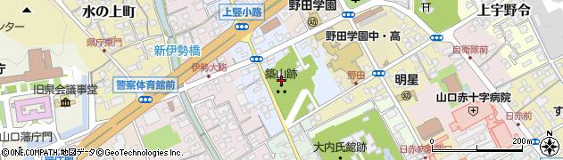 築山神社周辺の地図
