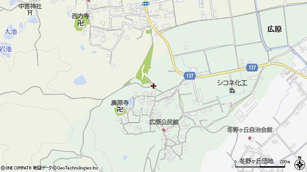 〒640-0333 和歌山県和歌山市広原の地図