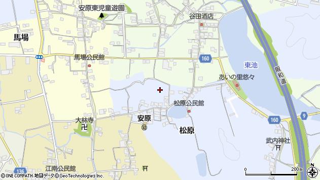 〒640-0342 和歌山県和歌山市松原の地図