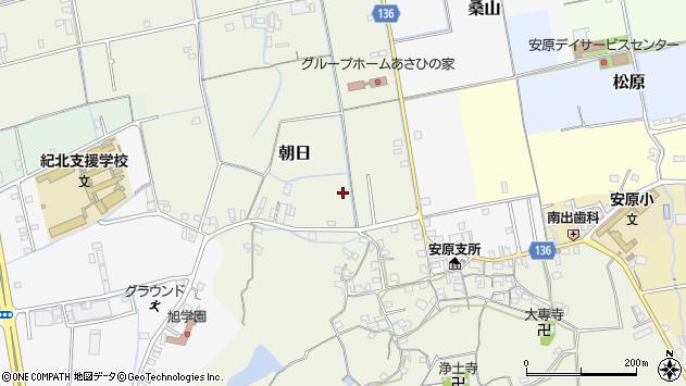 〒640-0344 和歌山県和歌山市朝日の地図