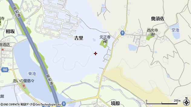 〒640-0363 和歌山県和歌山市吉里の地図