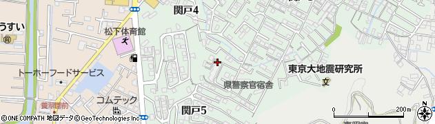 和歌山県和歌山市関戸周辺の地図