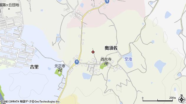 〒640-0362 和歌山県和歌山市奥須佐の地図