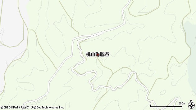 〒649-6104 和歌山県紀の川市桃山町脇谷の地図