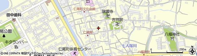香川県三豊市仁尾町仁尾周辺の地図