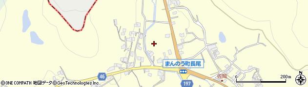 香川県仲多度郡まんのう町長尾東佐岡周辺の地図