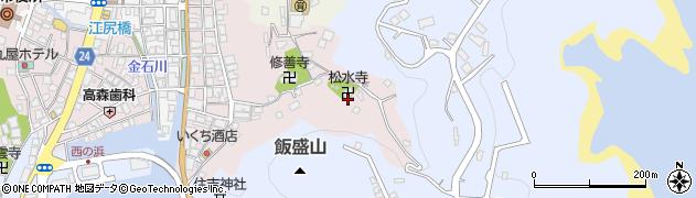 松水寺周辺の地図