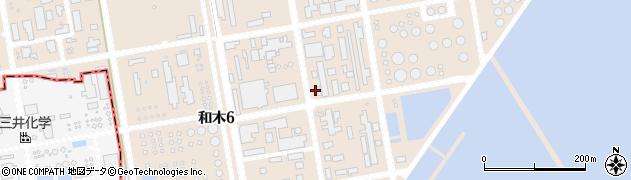 山口県和木町(玖珂郡)和木周辺の地図