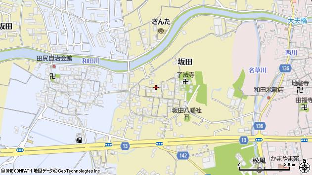 〒641-0003 和歌山県和歌山市坂田の地図