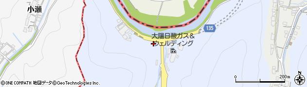 山口県和木町(玖珂郡)関ヶ浜周辺の地図