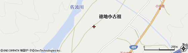山口県山口市徳地小古祖片山上周辺の地図