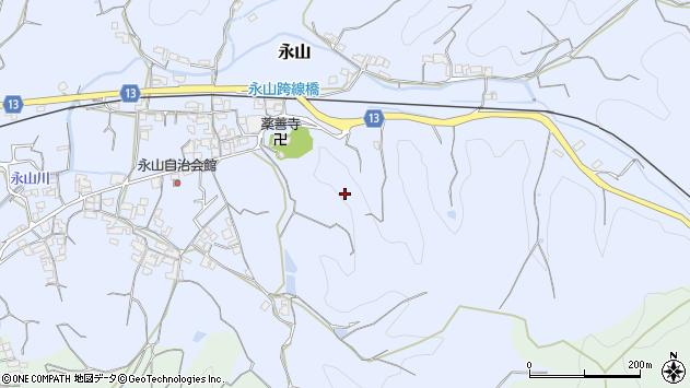 〒640-0302 和歌山県和歌山市永山の地図
