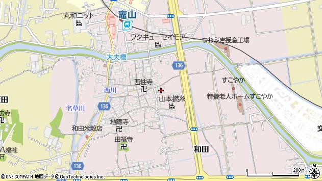 〒641-0004 和歌山県和歌山市和田の地図