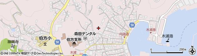 三島神社周辺の地図