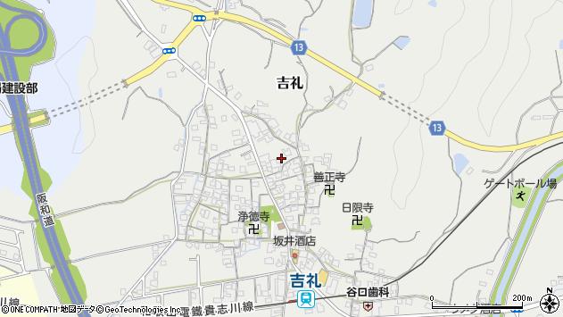 〒640-0351 和歌山県和歌山市吉礼の地図