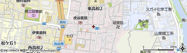 和歌山県和歌山市東高松周辺の地図
