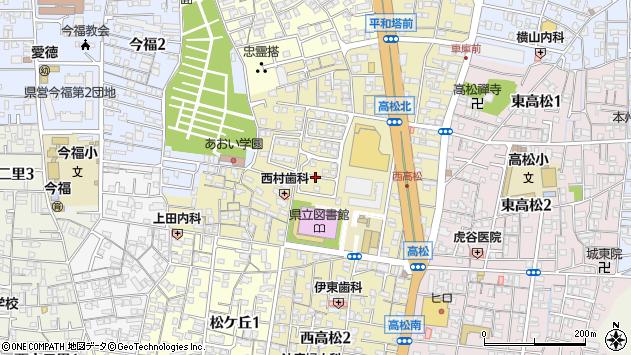 〒641-0051 和歌山県和歌山市西高松の地図
