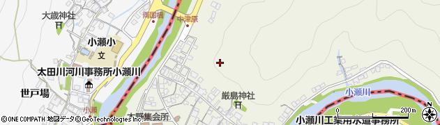 広島県大竹市木野周辺の地図