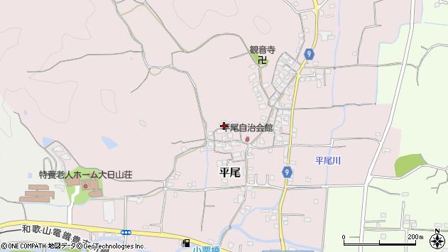 〒640-0304 和歌山県和歌山市平尾の地図