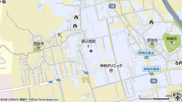 〒640-8312 和歌山県和歌山市森小手穂の地図