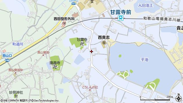 〒640-0415 和歌山県紀の川市貴志川町長原の地図