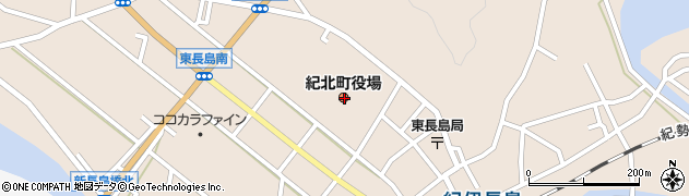 三重県北牟婁郡紀北町周辺の地図