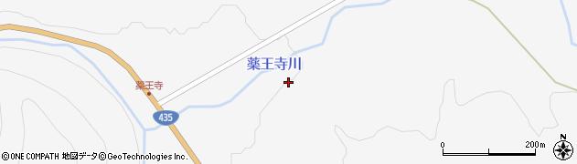 薬王寺川周辺の地図
