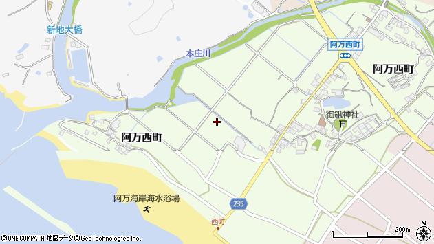 〒656-0545 兵庫県南あわじ市阿万西町の地図