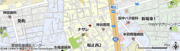 和歌山県和歌山市堀止西周辺の地図