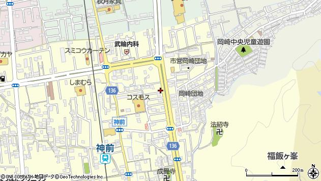 〒640-8314 和歌山県和歌山市神前の地図