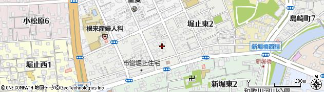 和歌山県和歌山市堀止東周辺の地図