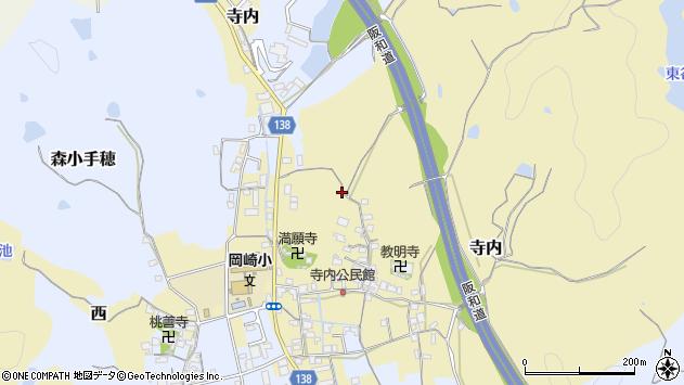 〒640-8311 和歌山県和歌山市寺内の地図