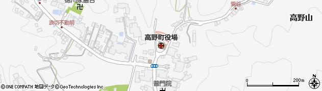 和歌山県高野町(伊都郡)周辺の地図