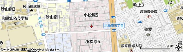 和歌山県和歌山市小松原周辺の地図