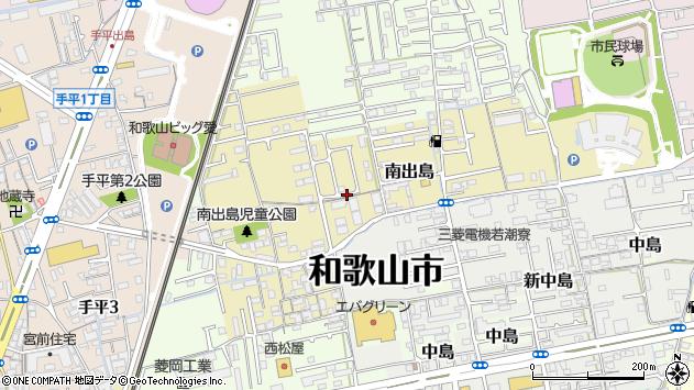 〒640-8318 和歌山県和歌山市南出島の地図