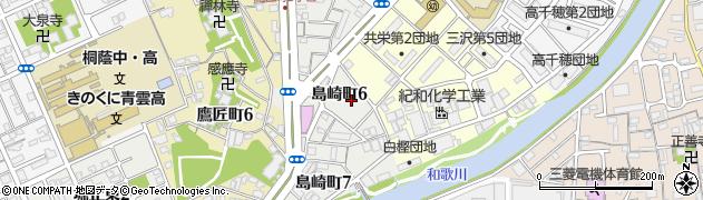 島崎住宅周辺の地図