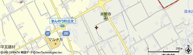 香川県仲多度郡まんのう町東高篠下分周辺の地図