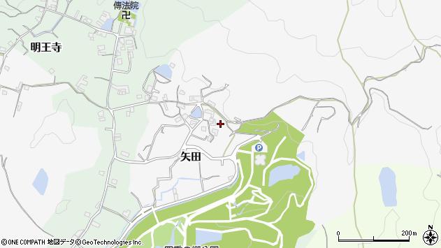 〒640-0307 和歌山県和歌山市矢田の地図