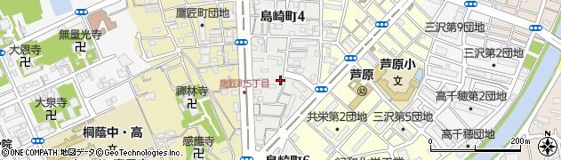 和歌山県和歌山市島崎町周辺の地図