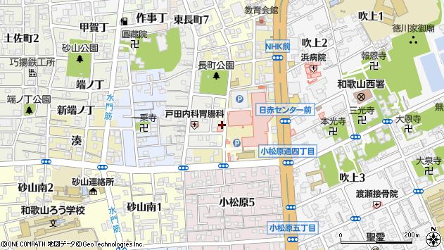 〒640-8264 和歌山県和歌山市湊桶屋町の地図