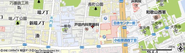 和歌山県和歌山市東長町(中ノ丁)周辺の地図
