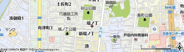 和歌山県和歌山市出口(端ノ丁)周辺の地図