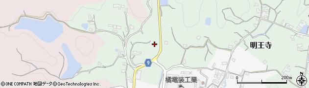 和歌山県和歌山市明王寺周辺の地図