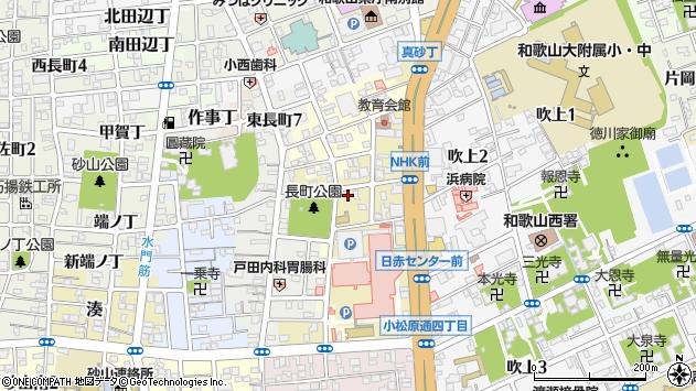 〒640-8267 和歌山県和歌山市芝ノ丁の地図