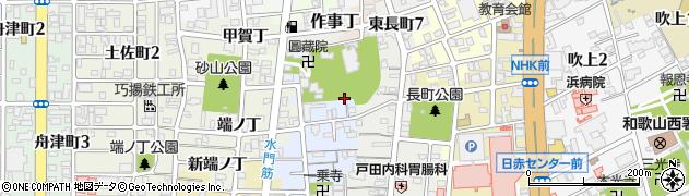 和歌山県和歌山市金龍寺丁周辺の地図