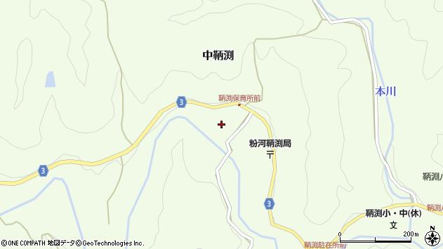 〒649-6573 和歌山県紀の川市中鞆渕の地図
