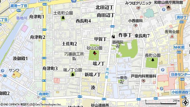 〒640-8283 和歌山県和歌山市出口中ノ丁の地図