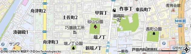 和歌山県和歌山市出口(中ノ丁)周辺の地図