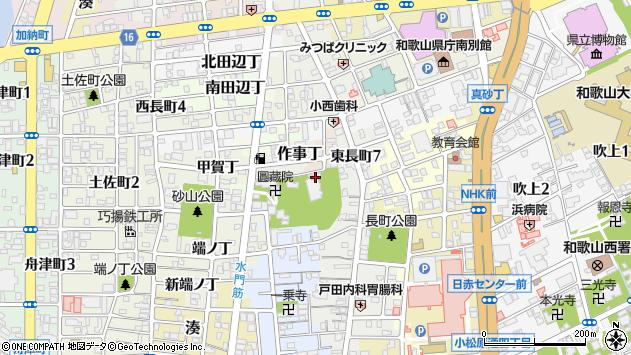 〒640-8271 和歌山県和歌山市尾崎丁の地図